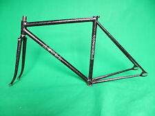 Level Black with silver flake NJS Keirin Frame Track Bike Fixed Gear