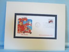 Famous Toys - The Toy Fire Engine & First day Cover of its own stamp