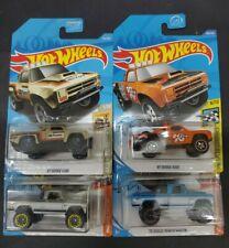 2020 Hot Wheels Lot of 4 Dodge Trucks Power Wagon & D100