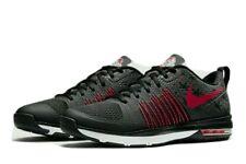 "New Men's Nike Air Max 1 Effort TR AMP Ohio State Black Red size 8 ""Dark Night"""