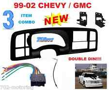 METRA DOUBLE DIN CAR STEREO RADIO INSTALL DASH KIT FOR 1999-02 SILVERADO SIERRA