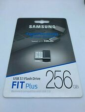 NEW Samsung 256GB FIT Plus - 300MB/s USB 3.1 Flash Drive MUF-256AB/AM