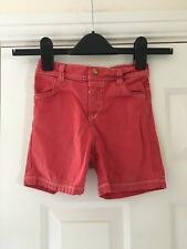 George Boys Red Shorts Size 12-18 Months