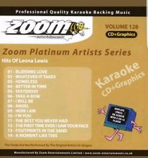 ZOOM  KARAOKE CDG    platinum  volume 128   HITS OF LEONA  LEWIS   14 TRACKS