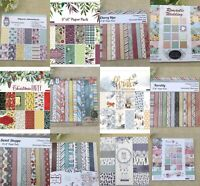 Assorted 24 Sheets 6x6 Scrapbooking Pad Paper Background Pattern Card Crafts