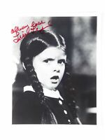 Lisa Loring Vtg Signed Autographed 8x10 Photo Wednesday Addams Family