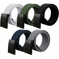 Kruze Mens Canvas Belt For Jeans Designer Adjustable Regular Big King Size Belts