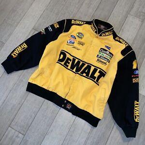 DeWALT Racing Nascar Jacket Matt Kenseth Coat JH Design Vtg Pit Crew Mens 3XL