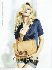 PUBLICITE ADVERTISING 125  2011  GUESS collections sacs