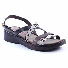 Women's Wedge Heel Animal Print Sandals and Beach Shoes