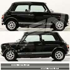 Austin Rover Mini Classic Cooper 1275 GT side Stripes stickers Decals