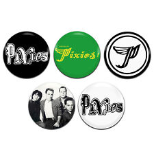 5x Pixies Band Rock Punk Indie 25mm / 1 Inch D Pin Button Badges