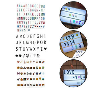 Cute Replacement For A3/A4/A5Cinemati Light box letters Cinema Mailbox /color