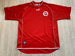 2003 04 Schweiz Fußball Trikot Switzerland Football Shirt Suisse Jersey Puma XL