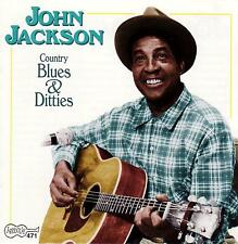 John Jackson-Country Blues & Ditties-CD-1990 Arhoolie Records USA-CD 471