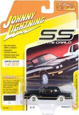 Chase 1987 CHEVROLET MONTE CARLO BLACK 1/64 JOHNNY LIGHTNING JLCG022-JLSP104 B