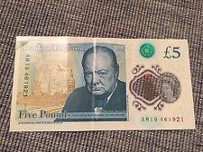 Nouvelle cinq pound note. RARE faible Numbered Collectors OBJET £ 5 polymère remarque: - am