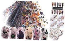 Halloween Nail Art Foils Transfer Stickers Nail Art Supplies Halloween Nail Foil
