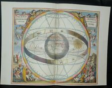 Karte aus HARMONIA MACROCOSMICA Himmelsatlas A. Cellarius Faksimile Coron Verlag