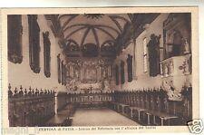 Certosa di Pavia - Interno del refettorio con l'affresco del Semini   ( i 5645)
