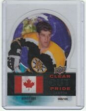 2012-13 Upper Deck Clear Cut Pride #3 Bobby Orr  /100