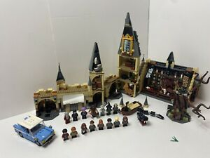 LEGO Harry Potter: HOGWARTS GREAT HALL 75954 + Whomping Willow 75953 Set.