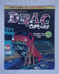 Little Red Wagon Wheelstander Garage Sign Drag Cartoons Dodge A-100 Pick Up