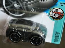 Diecast HotWheels Car 1:64, TOONED: Chrysler 300C  - Charcoal Grey
