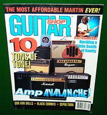 1999 GUITAR SHOP Exams MARSHALL,Fender,BOGNER,Mesa Amp, Axis MM90, CRYBABY 535Q