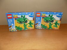 LEGO 7595 TOY STORY Army Men on Patrol Retired 2 Sets BRAND NEW & FACTORY SEALED