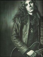 The Black Crowes Rich Robinson 1992 pin-up photo 8 x 11 b/w print