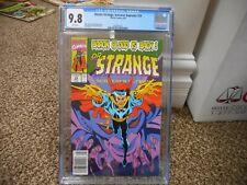 Dr Strange 29 cgc 9.8 Marvel 1991 MINT Sorcerer Supreme Doctor newsstand variant
