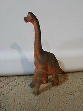 "2009 Tm 5.25"" Inch Brown Brachiosaurus Jurassic Dinosaur"
