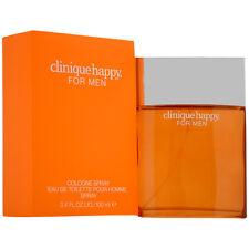 Clinique Happy for Men Eau de Toilette Cologne Spray - 3.4oz.