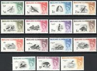 Falkland Islands 1960 complete set of 15 mint SG193-----207 (15)