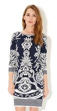 MONSOON Aida Jacquard Print Dress BNWT