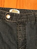 Talbots Blue Denim Stretch Capri Jeans-Size 12