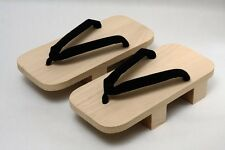 Traditional Japanese footwear  Wooden clogs Geta Samurai Kimono < 2L > for men