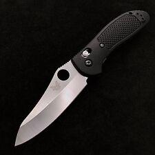 Benchmade  Griptilian 550HG Knife Black Handle AXIS lock 154cm Steel Black