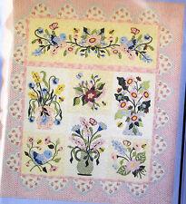 Fantasy Flowers - beautiful pieced & applique quilt PATTERN - P3 Designs