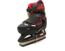 Oxelo Fit 3  Ice Skate Schwarz/Rot verstellbar 32-35 Kinder Schlittschuh- Sale