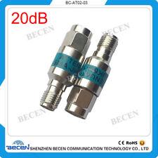 2W SMA 20dB Attenuator Plug male to Jack female 2Watt DC-6Ghz
