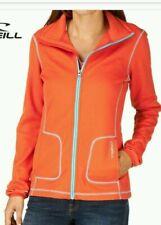 O'NEILL Womens Paprika Orange Full Zip Fleece Jacket Ladies XS BNWT