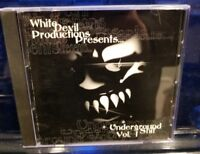White Devil Prod. - CD feat. The R.O.C. of House of Krazees horrorcore rare wdp