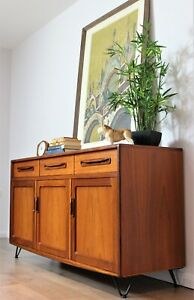 Vintage Retro G Plan Sideboard Hairpin Legs Mid Century Teak Delivery Available