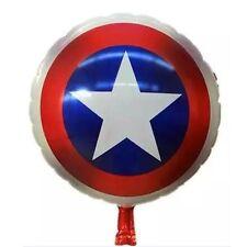 "Captain America Foil balloons18"" Superhero Avengers Party Birthday Easter Baloon"