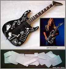 Jeff Hanneman guitar stickers vinyl decal Slayer Jackson Full Set 22