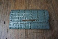 Authentic Brahmin Ocean La Scala Soft Checkbook Wallet-NWT $175
