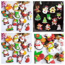 Fridge Magnet Christmas Tree/Cap Snowman Santa Clause Magnetic Sticker