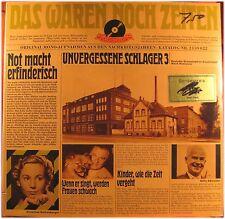Das waren noch Zeiten, Unvergessene Schlager, VG/VG,  LP (4920)